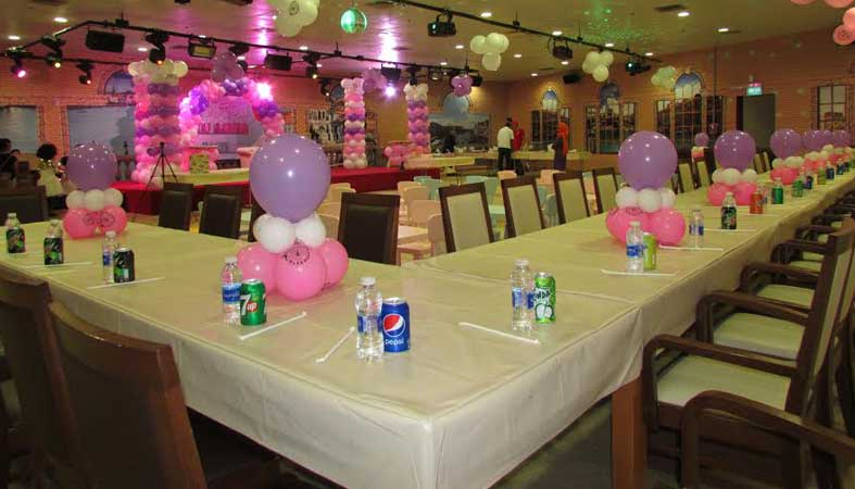 Party Room Gondolania Theme Park